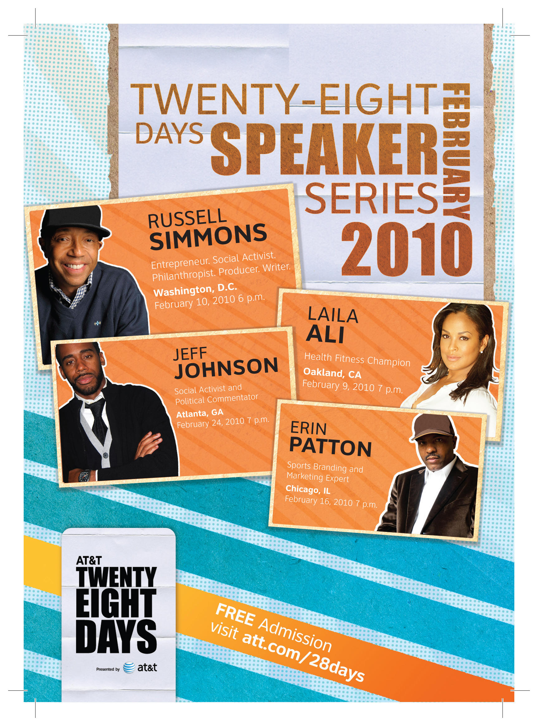 speaker event flyer